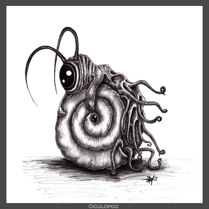Oculopod by Daniele Hopkins